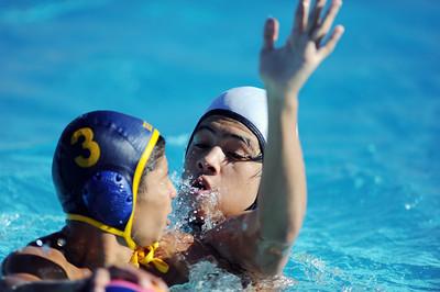 Cleveland vs Birmingham  water polo at Birmingham High School Thursday, October 28, 2010. (Hans Gutknecht/Staff Photographer) .