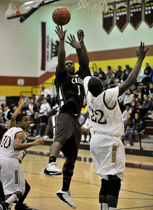 Crespi defeated Alemany 78 to 53 in the San Fernando Valley Invitational. Mission Hills, CA 12-22-2010. (John McCoy/staff photographer)