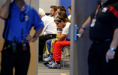 APTOPIX IndyCar Las Vegas Auto Racing
