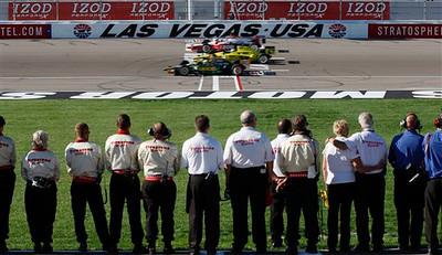 IndyCar Las Vegas Auto Racing