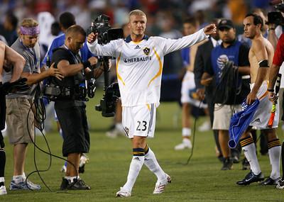 Chelsea FC vs. LA Galaxy David Beckham