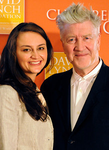 Emily and David Lynch. Transendental Meditation is being used by teen victims of prostitution to ease their traums. Academy Award-nominated director, acclaimed writer and producer David Lynch and his wife Emily; Children of the Night founder and president Dr. Lois Lee, motion picture actor Ben Foster, and world-renowned psychiatrist and author Norman Rosenthal were all on hand to talk about the benefits of meditation. Van Nuys, CA 6-3-2011. (John McCoy/Staff Photographer)