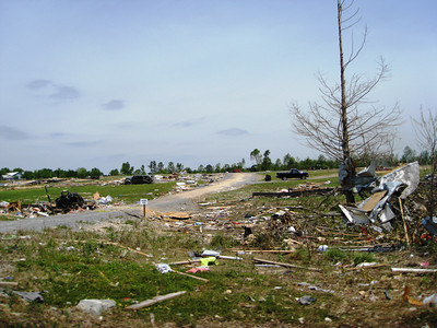 Entire communities such as this one in Sylvania, Alabama were devastated by the tornadoes of April 27, 2011.