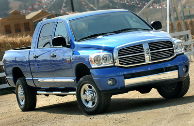 road test of the Dodge Ram 2500 truck