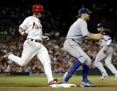 Dodgers Cardinals Baseball