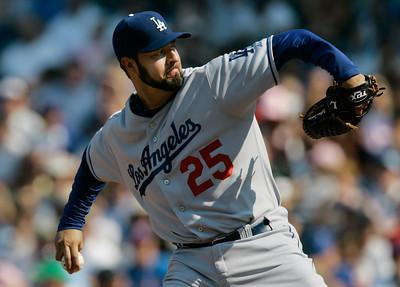 Dodgers Cubs Baseball
