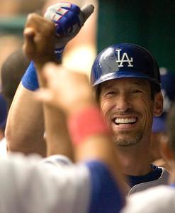 Dodgers Devil Rays Baseball