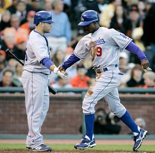 Dodgers Giants Baseball