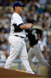 Dodgers vs Marlins 7-6-07