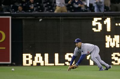 Dodgers Padres Baseball