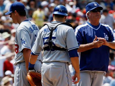 Dodgers Rockies Baseball
