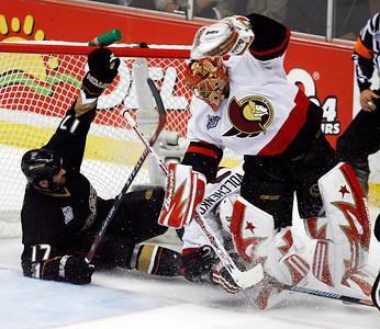 Senators Ducks Stanley Cup Hockey