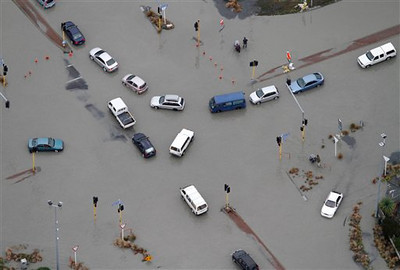 APTOPIX New Zealand Earthquake
