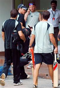 India New Zealand Earthquake WCup Cricket