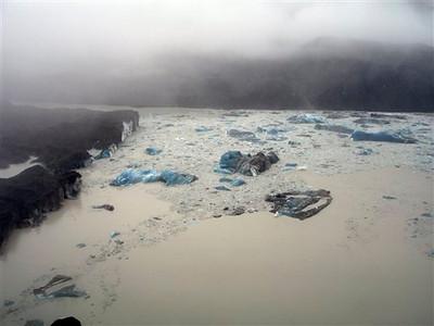 New Zealand Earthquake Glacier