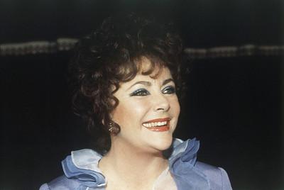 Actress Elizabeth Taylor