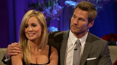 "Emily Maynard and Brad Womack on ""The Bachelor"""
