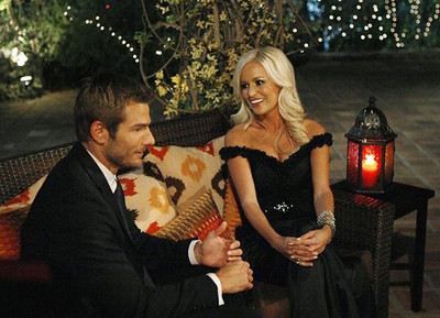"Brad Womack and Emily Maynard on ""The Bachelor"""