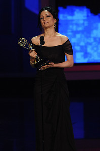 Archie Panjabi won an Emmy Award for Outstanding Supporting Actress In A Drama Series for her role on 'The Good Wife' at the 62nd Primetime Emmy Awards on Sunday, August  29, 2010, at the Nokia Theatre in Los Angeles.(Michael Owen Baker/ staff photographer)