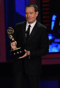 Bryan Cranston won an Emmy Award for Outstanding Lead Actor In A Drama Series for his role on 'Breaking Bad' at the 62nd Primetime Emmy Awards on Sunday, August  29, 2010, at the Nokia Theatre in Los Angeles.(Michael Owen Baker/ staff photographer)