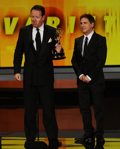 at the 62nd Primetime Emmy Awards on Sunday, August  29, 2010, at the Nokia Theatre in Los Angeles.(Michael Owen Baker/ staff photographer)