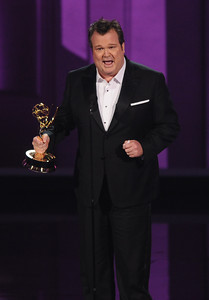 Eric Stonestreet won the Emmy for Outstanding Supporting Actor in a Comedy Series at the 62nd Primetime Emmy Awards on Sunday, August  29, 2010, at the Nokia Theatre in Los Angeles.(Michael Owen Baker/ staff photographer)