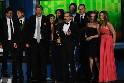 """""""Top Chef""""  won the Emmy for Outstanding Reality Competition Program at the 62nd Primetime Emmy Awards on Sunday, August  29, 2010, at the Nokia Theatre in Los Angeles.(Michael Owen Baker/ staff photographer)"""
