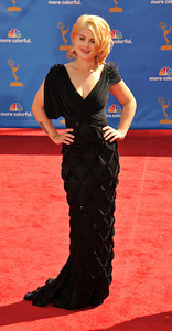 Kelly Osborn arrives for the 62nd Primetime Emmy Awards on Sunday, August  29, 2010, at the Nokia Theatre in Los Angeles.(John McCoy/ staff photographer)
