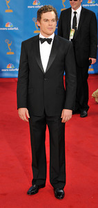 Michael C. Hall arrives for the 62nd Primetime Emmy Awards on Sunday, August  29, 2010, at the Nokia Theatre in Los Angeles.(John McCoy/ staff photographer)