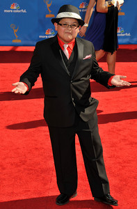 Ricco Rodriguez arrives for the 62nd Primetime Emmy Awards on Sunday, August  29, 2010, at the Nokia Theatre in Los Angeles.(John McCoy/ staff photographer)