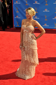 Jewel arrives for the 62nd Primetime Emmy Awards on Sunday, August  29, 2010, at the Nokia Theatre in Los Angeles.(John McCoy/ staff photographer)