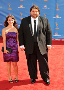 Jorge Garcia arrives for the 62nd Primetime Emmy Awards on Sunday, August  29, 2010, at the Nokia Theatre in Los Angeles.(John McCoy/ staff photographer)