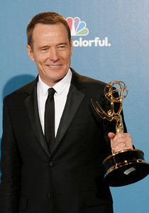 Brian Cranston during the 62nd Primetime Emmy Awards on Sunday, August  29, 2010, at the Nokia Theatre in Los Angeles.(David Crane/ staff photographer)