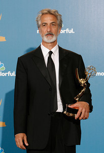 David Strathairn after the 62nd Primetime Emmy Awards on Sunday, August  29, 2010, at the Nokia Theatre in Los Angeles.(David Crane/ staff photographer)