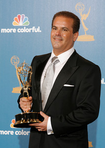 Adam Mazer after the 62nd Primetime Emmy Awards on Sunday, August  29, 2010, at the Nokia Theatre in Los Angeles.(David Crane/ staff photographer)