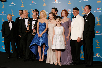 Mad Men wins during the 62nd Primetime Emmy Awards on Sunday, August  29, 2010, at the Nokia Theatre in Los Angeles.(David Crane/ staff photographer)