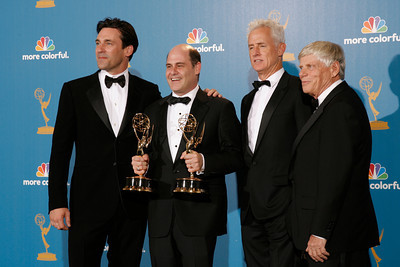 Mad Men after the 62nd Primetime Emmy Awards on Sunday, August  29, 2010, at the Nokia Theatre in Los Angeles.(David Crane/ staff photographer)