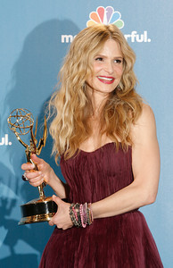 Kyra Sedgwick after the 62nd Primetime Emmy Awards on Sunday, August  29, 2010, at the Nokia Theatre in Los Angeles.(David Crane/ staff photographer)