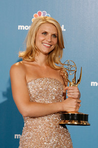 Claire Danes after the 62nd Primetime Emmy Awards on Sunday, August  29, 2010, at the Nokia Theatre in Los Angeles.(David Crane/ staff photographer)