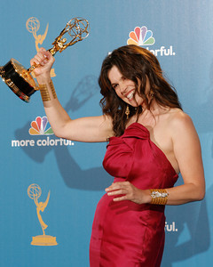 Julia Ormond after the 62nd Primetime Emmy Awards on Sunday, August  29, 2010, at the Nokia Theatre in Los Angeles.(David Crane/ staff photographer)