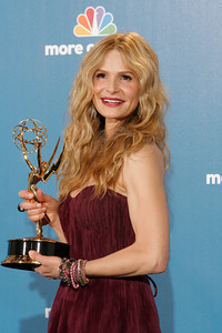 Actress Kyra Sedgwick after the 62nd Primetime Emmy Awards on Sunday, August  29, 2010, at the Nokia Theatre in Los Angeles.(David Crane/ staff photographer)