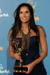 Padma Lakshmi after the 62nd Primetime Emmy Awards on Sunday, August  29, 2010, at the Nokia Theatre in Los Angeles.(David Crane/ staff photographer)