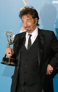 Al Pacino after the 62nd Primetime Emmy Awards on Sunday, August  29, 2010, at the Nokia Theatre in Los Angeles.(David Crane/ staff photographer)