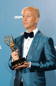 Ryan Murphy after the 62nd Primetime Emmy Awards on Sunday, August  29, 2010, at the Nokia Theatre in Los Angeles.(David Crane/ staff photographer)