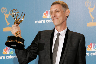 Director Steve Shill poses after the 62nd Primetime Emmy Awards on Sunday, August  29, 2010, at the Nokia Theatre in Los Angeles.(David Crane/ staff photographer)