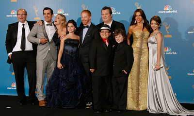 Modern Family after the 62nd Primetime Emmy Awards on Sunday, August  29, 2010, at the Nokia Theatre in Los Angeles.(David Crane/ staff photographer)
