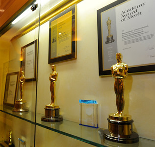 These Oscars were awarded to Panavision for their contributions in the film industry. Woodland Hills, CA 1/20/2012(John McCoy/Staff Photographer)