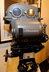 This PSR #1 Panavision Silent Reflex 35 MM camera, was a prototype camera built in 1966. Its heavy duty case intended the camera to be silent in operation. Woodland Hills, CA 1/20/2012(John McCoy/Staff Photographer)