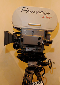 This PSR Panavision Silent Reflex 35 mm camera was designed and built in 1967. The PSR was used on thousands of theatrical and television productions throughtout the world. Woodland Hills, CA 1/20/2012(John McCoy/Staff Photographer)