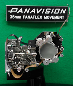 This 35 mm Panaflex Movement is the heart of a Panavision camera. Woodland Hills, CA 1/20/2012(John McCoy/Staff Photographer)